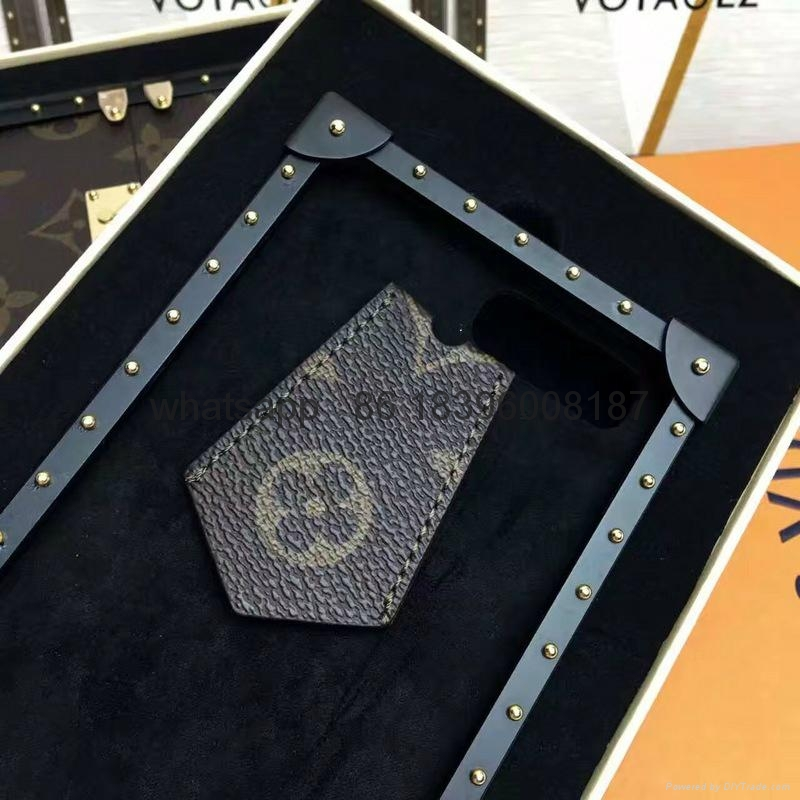 wholesaletop Louis Vuitton 1:1quality Cover fashion phones lv cases leather case 13
