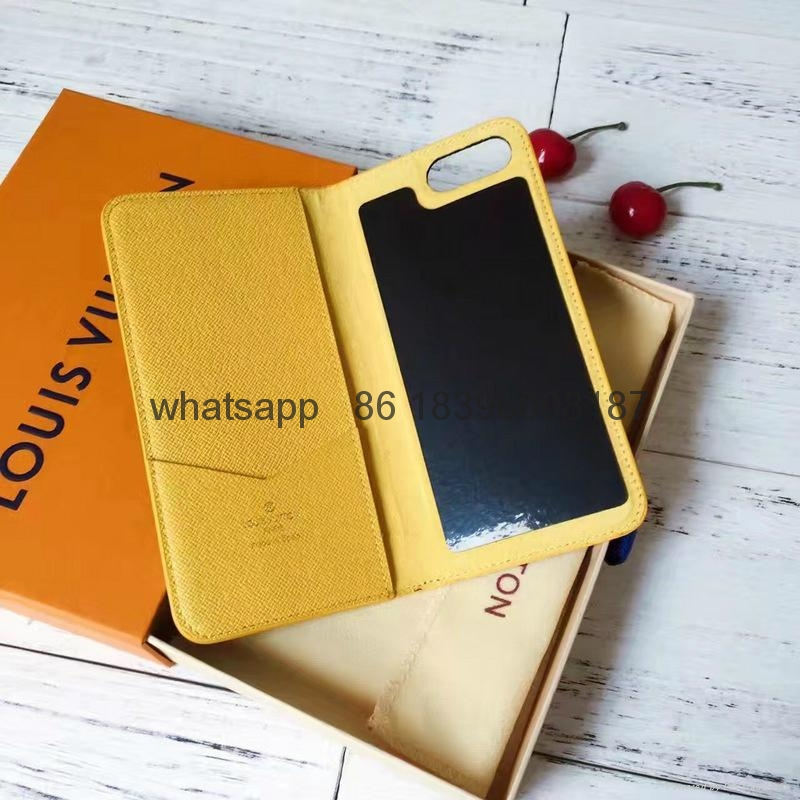 wholesaletop Louis Vuitton 1:1quality Cover fashion phones lv cases leather case 14