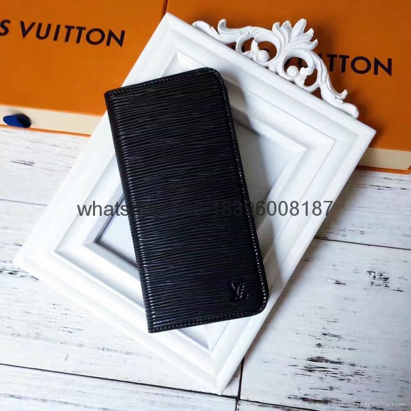 wholesaletop Louis Vuitton 1:1quality Cover fashion phones lv cases leather case 17