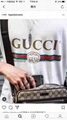 wholesale newest top quality replica 100% cotton gucci  polo t shirts clothings