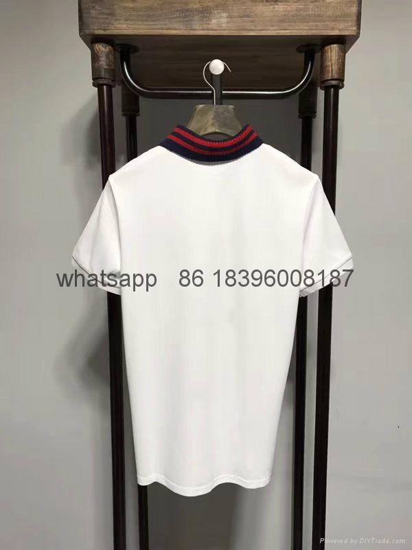 wholesale newest top quality replica 100% cotton gucci  polo t shirts clothings  8