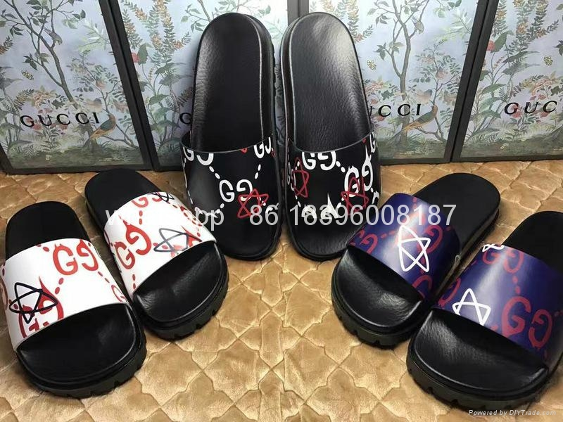 Wholesale cheap hot sale 1:1 High Quality Gucci Sandals Original Slippers shoes 4