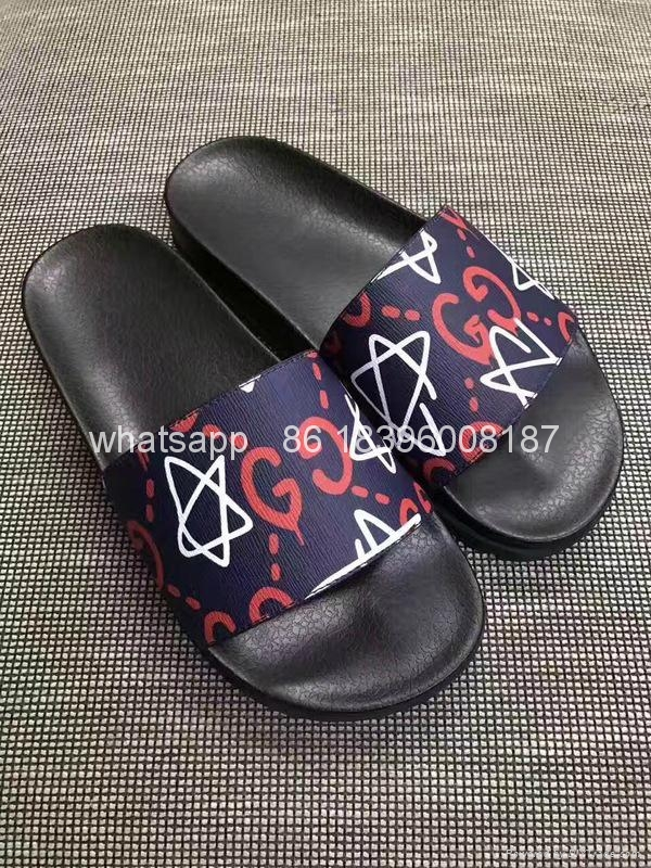 Wholesale cheap hot sale 1:1 High Quality Gucci Sandals  Slippers shoes 14