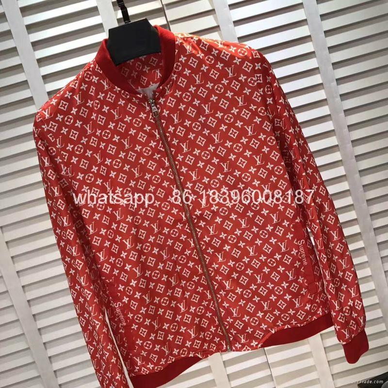 wholesale top quality newest Louis Vuitton Supreme LV hoodies jackets