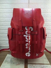 wholesale top original newest Louis Vuitton supreme lv backpack bags Luggages  (Hot Product - 1*)