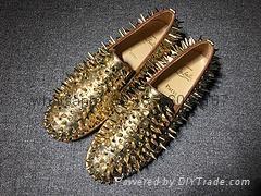 Wholesale top Hot Christian Louboutin Personal Tailo CL Shoes Men women Sneaker 2