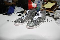 Wholesale top Hot Christian Louboutin Personal Tailo CL Shoes Men women Sneaker 4