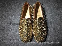 Wholesale top Hot Christian Louboutin Personal Tailo CL Shoes Men women Sneaker 7