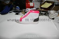 Wholesale top Hot Christian Louboutin Personal Tailo CL Shoes Men women Sneaker 9