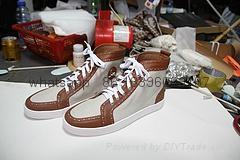 Wholesale top Hot Christian Louboutin Personal Tailo CL Shoes Men women Sneaker 12