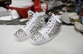 Wholesale top Hot Christian Louboutin Personal Tailo CL Shoes Men women Sneaker 20