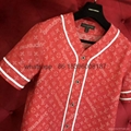wholesale quality newest Louis Vuitton Supreme LV baseball shirt  denim