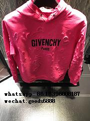 Hot sell wholesale top Givenchy PARIS sweater t-shirts men  luxury hoodies