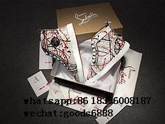 Wholesale Hot Cheap Louboutin CL Shoes for Men Christian Louboutin Sneaker 2