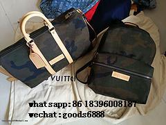 Wholesale Supreme X Louis Vuitton Duffle Bag Handbags suitcase leather wallets  2