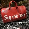 Wholesale Supreme X Louis Vuitton Duffle Bag Handbags suitcase leather wallets  5