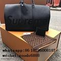 Wholesale Supreme X Louis Vuitton Duffle Bag Handbags suitcase leather wallets  15