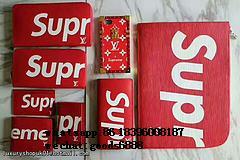 Wholesale Supreme X Louis Vuitton Duffle Bag Handbags suitcase leather wallets  17