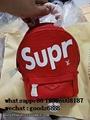 Wholesale Supreme X Louis Vuitton Duffle Bag Handbags suitcase leather wallets  19