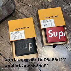Wholesale Supreme X Louis Vuitton Duffle Bag Handbags suitcase leather wallets  20