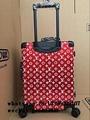 LV Superme x Keepall Travel Bag Supreme Christopher suitcase LVS luggage