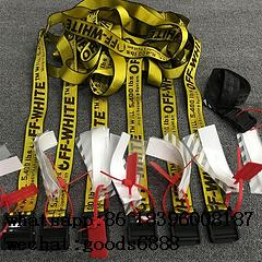wholesale hot sell off white cheap top 1:1 quality off-white shorts  belts set