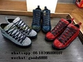 real leather Balenciaga replica top 1:1Sneakers Stingray Arena High shoes