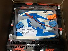 "authentic NIKE AIR JORDAN 1 ""OFF-WHITE"" Shoes Sneakers Release Online For Sale 17"