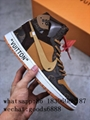 """authentic NIKE AIR JORDAN 1 """"OFF-WHITE"""" Shoes Sneakers Release Online For Sale"""