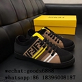 Newest Fendi Shoes top quality Sneaker boots Slippers Fendi stripe Flip Flops