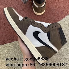 wholesale top nike Air Jordan 1 Hi OG x Travis Scott TS aj1 Basketball Shoes