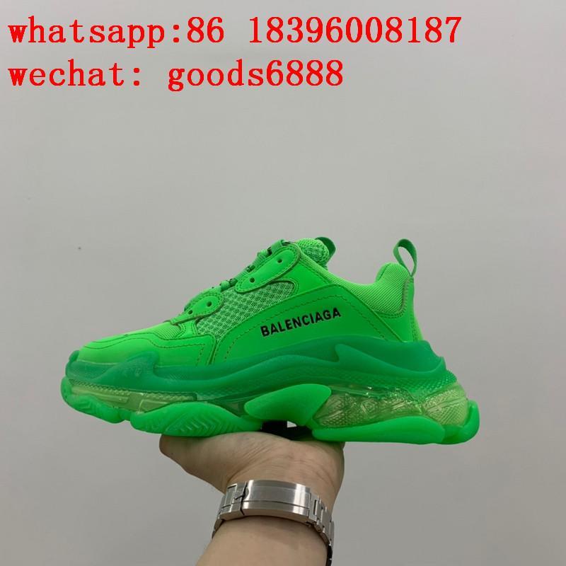wholesa hotsale top Balenciaga Triple S 3.0 2.0 1.0 Speed Trainer sneakers Shoes 4