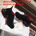 wholesale newest best quality CL shoes Christian louboutin sneakers red bottom