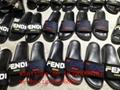 2019 New fendi sandals slippers fendi slides fendi shoes Fendi fabric