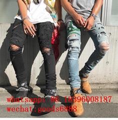 wholesale  2019 hot sell man Amiri jeans fashion jacket brand amiri jeans