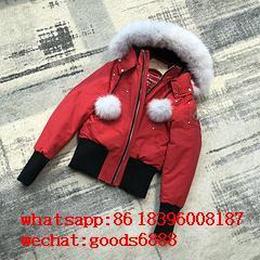 wholesale 2019 newest Moose Knuckles Jackets man down coats fur coats 8