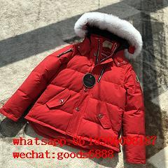 wholesale 2019 newest Moose Knuckles Jackets man down coats fur coats 18