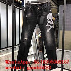 Wholeale Cheap Phili Plein Jeans Men's Phili Plein Jeans clothing trousers