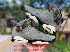 best qaulity      Air Jordan 6 x Travis Scott AJ6 TS Sneaker basketball  Shoes