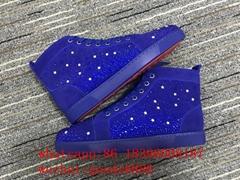 Wholesale Christian Louboutin shoes CL red bottom sneakers 1:1 CL Aurelien Flat