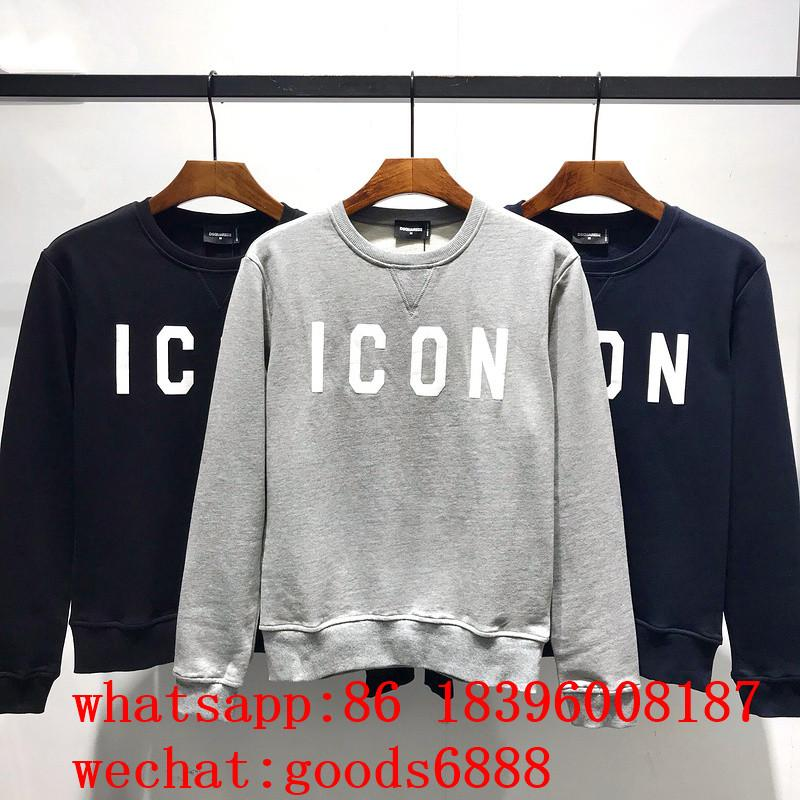 wholesale 2019 Newest D2 DSQ Brand DSQUARED2 hoodies Men winter jackets sweaters 1