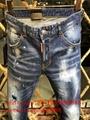 Wholesale authentic D2 Dsquared2 jeans 1:1 quality men long jeans pants trousers 3