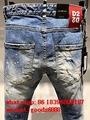 Wholesale authentic D2 Dsquared2 jeans 1:1 quality men long jeans pants trousers 4