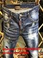 Wholesale authentic D2 Dsquared2 jeans 1:1 quality men long jeans pants trousers 6