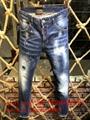 Wholesale authentic D2 Dsquared2 jeans 1:1 quality men long jeans pants trousers 10