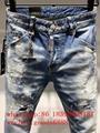 Wholesale authentic D2 Dsquared2 jeans 1:1 quality men long jeans pants trousers 17