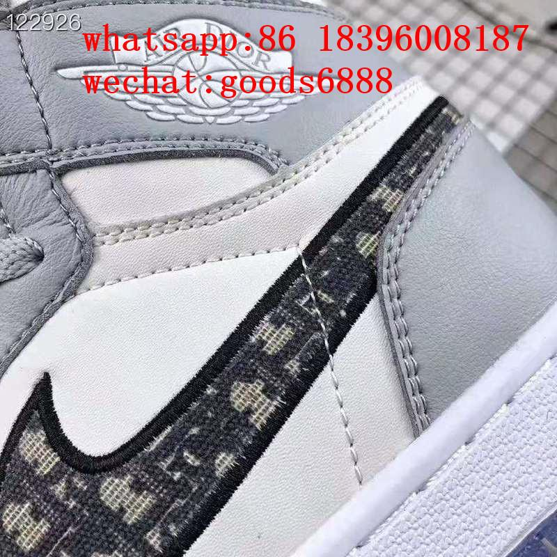 wholesale newest 1:1 best quality dior Nike Air Jordan 1 sports basketball shoes 4
