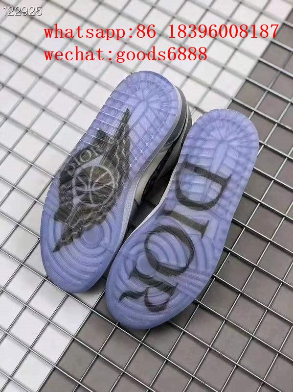 wholesale newest 1:1 best quality dior Nike Air Jordan 1 sports basketball shoes 5