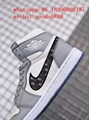 wholesale newest 1:1 best quality dior Nike Air Jordan 1 sports basketball shoes 10