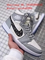 wholesale newest 1:1 best quality dior Nike Air Jordan 1 sports basketball shoes 12